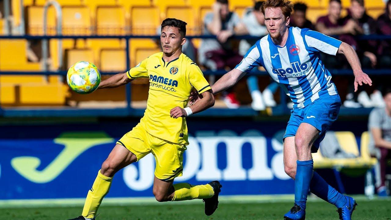 Highlights Villarreal C 1-1 Recambios Colón