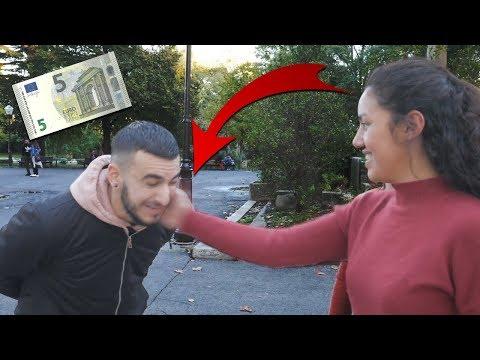 POUR 5 EUROS TU ME GIFLES ?