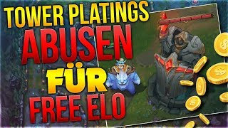 Towerplatings Abusen für Free Elo! Season 9 [League of Legends] [Deutsch / German]
