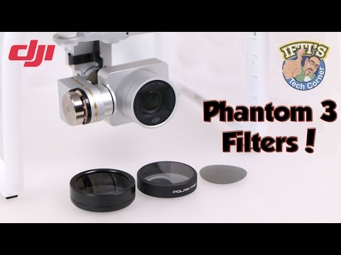 DJI Phantom 3 - ND/Polariser Filters & Types - SRP / PolarPro / PhantomFilters