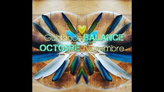 Guidance Balance Octobre Novembre 2019