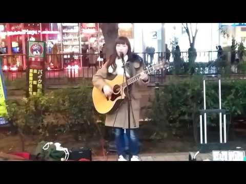 Marina, Indie Singer from Japan. Live @ Akihabara