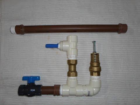 Como construir e montar um Carneiro hidráulico