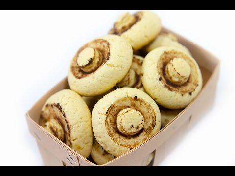 ПЕСОЧНОЕ ПЕЧЕНЬЕ ШАМПИНЬОНЫ \ Рецепт вкусного печенья \ Песочное печенье рецепт на маргарине