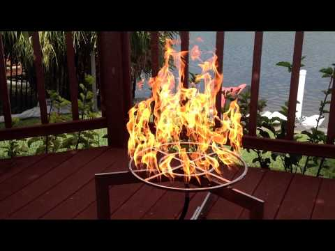 """Easy Do It Yourself Propane 18"""" Double Ring Fire Pit Kit from EasyFirePits fr18ck"""