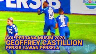 Kilas Balik Gol Perdana Geoffrey Castillion Musim 2020 Persib Bandung Lawan Persela Lamongan