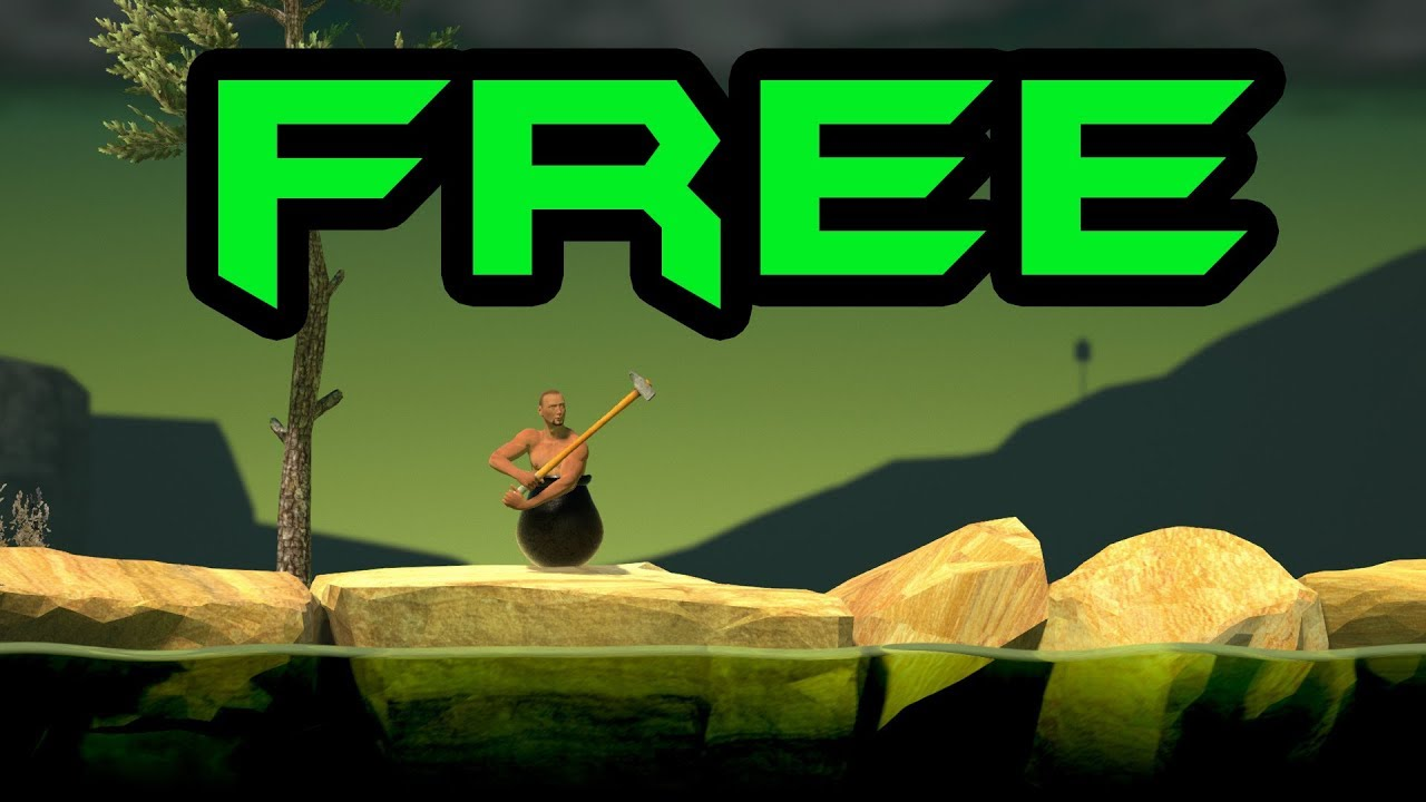 getting over it download crack