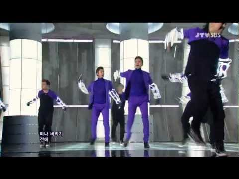 121007 TVXQ - Catch Me (Comeback Stage)