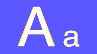 ABC Alfabet Leren - Letters Groot en Klein - Peuters Kleuters - Nederlands kinderfilmpje