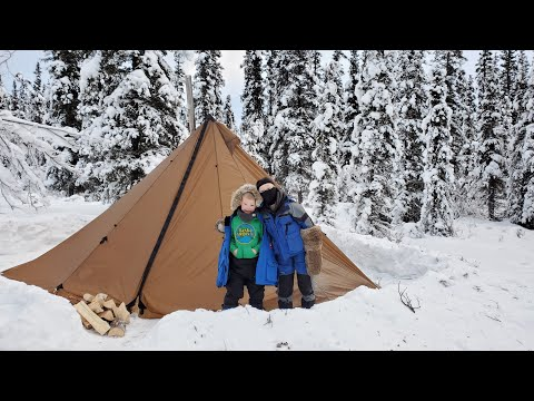 Backcountry Winter Camping & Ptarmigan Catch and Cook (Everything Goes WRONG!!!)