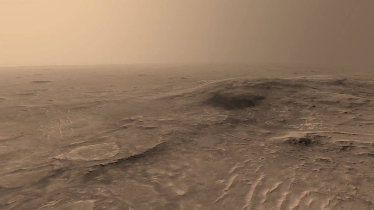 Spirit at Gusev Crater - YouTube