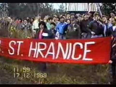 Břeclav 1989 - revoluce 7.část - setkání na státní hranici