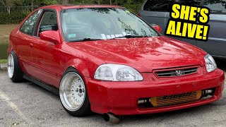 homepage tile video photo for THE RICER CIVIC RUNS! (GSR SWAP)