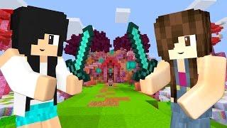 Minecraft - SKYWARS DIVERTIDO COM A MAMIS