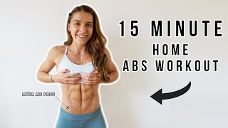 15 MINUTE ABS WORKOUT (no equipment)
