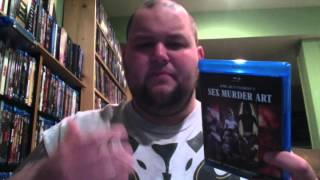 SEX MURDER ART: THE FILMS OF JORG BUTTGEREIT Blu-ray Boxset Review and Unboxing