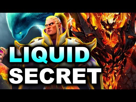 LIQUID vs SECRET - WINNERS FINAL - MAJOR DREAMLEAGUE 8 DOTA 2