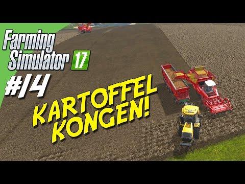 KARTOFFEL KONGEN! - Farming Simulator 2017 dansk Ep 14
