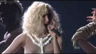 Lady GaGa - Bad Romance & Speechless (Live @ American Music Awards 2009)