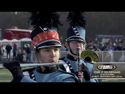 CN100Sports Xfinity High School Half Time Show - Willowbrook High School Marching Band.