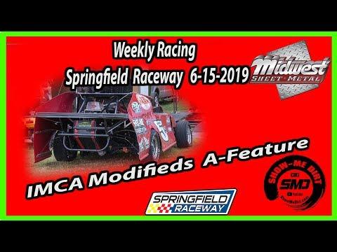 S03-E301 ICMA-Modifieds A-Feature Springfield Raceway 6-15-2019 #DirtTrackRacing