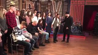 Гипноз зрителей на шоу Вечерний Ургант, то, что не вошло в эфир. Мгновенный гипноз. Иса Багиров