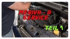 Opel Meriva A 1.4 16V kleiner Service Teil1 [4K]