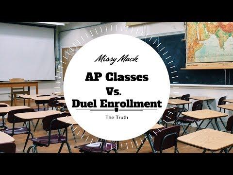 Ap Classes Vs. Dual Enrollment ll Pros and Cons ll Missy Mack