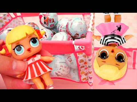 We Open 36 L.O.L. Toy Surprise Baby Dolls Balls - Fun 7 Laye