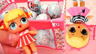 LOL Surprise Series 1 ! Toys and Dolls Fun Opening 7 Layers Toy Surprise Balls