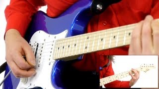 Blues Brothers - Sweet Home Chicago Guitar Lesson   How To Play!