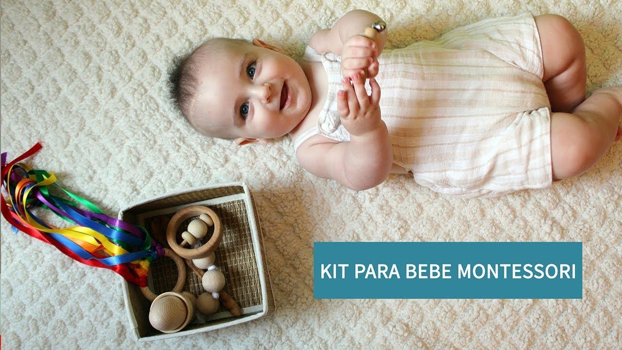 Juguetes Montessori Para Bebs  Kit Montessori Beb