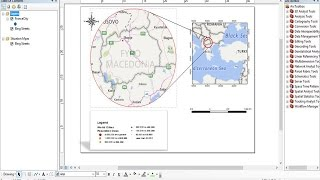 How To Add a Locator Map in ArcGis