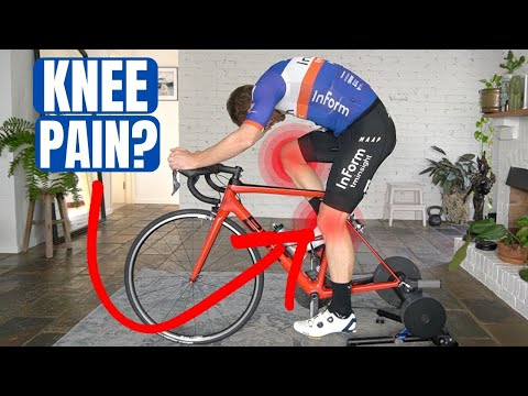 What Causes Cycling Knee Pain (with a bike fitting expert)