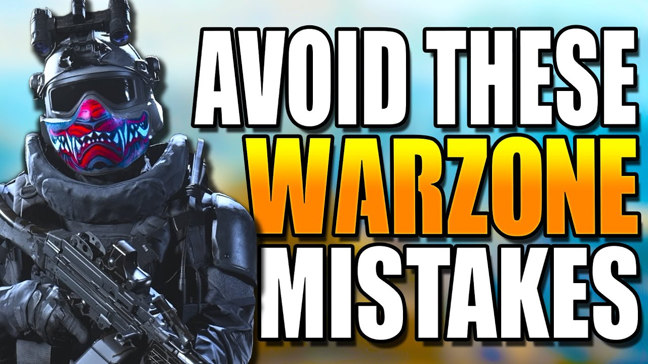 AVOID These MISTAKES In WARZONE Solos! Get BETTER at WARZONE! Warzone Tips! (Warzone Training)