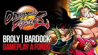 Dragon Ball FighterZ - Broly y Bardock: Gameplay a fondo | MERISTATION