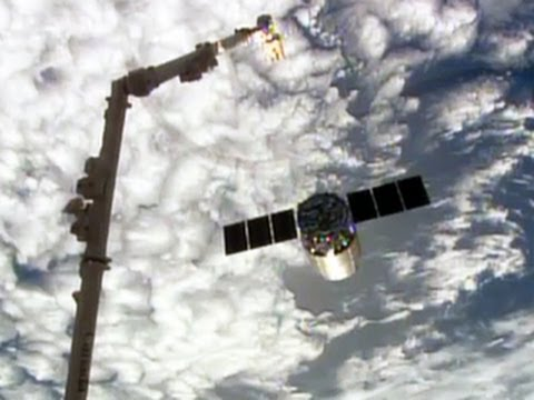 Watch: ISS takes out the trash, dumps Cygnus capsule