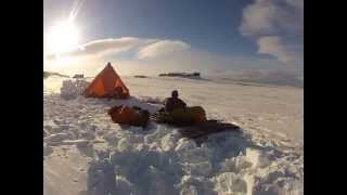Norway Snowshoe-Tour Location Finse - Hardangervidda