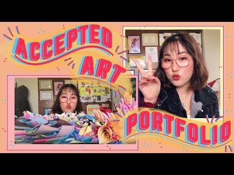 Accepted College Art Portfolio ll RISD, SAIC, MICA, Parsons