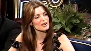 Stephanie Seymour - On Tonight Show w/ Jay Leno