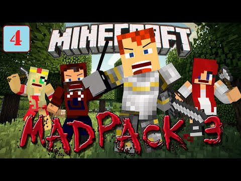 """BOOM! Blast Mining!"" - MadPack 3 with Modii, Heather, and Arizrain, Ep 4"