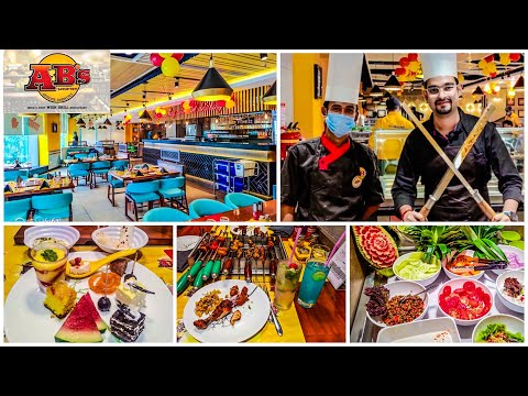 The Ultimate Luxurious Buffet Experience    Absolute Barbecue RUBY    DebojyotiVlogs