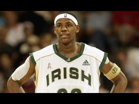 LeBron James in High School -  Mansion @ St Vincent St Mary