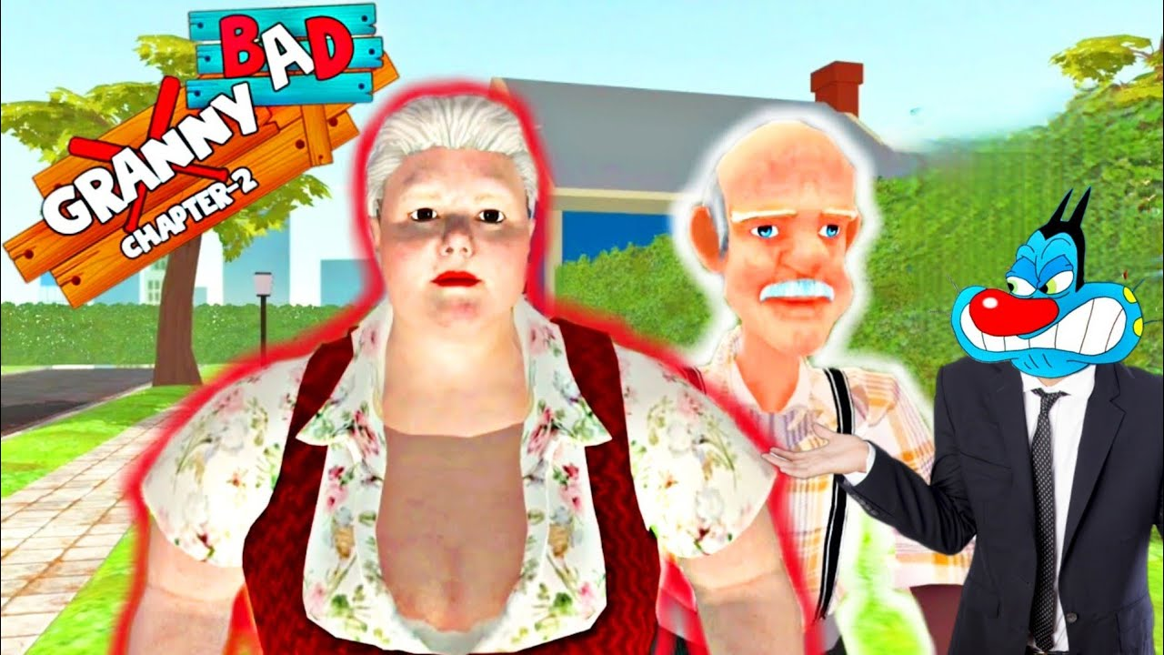 Granny Ke Ghar me Chori- Bad Granny Chapter Two Act-2 with Oggy and Jack
