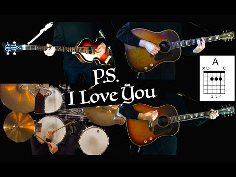 p.s.-i-love-you---instrumental-cover---guitars,-bass-and-drums