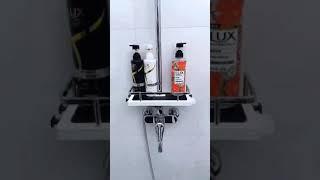 화장실 정리 수납 다기능 샤워선반