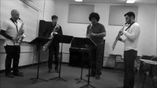 Michael Nyman - Songs for Tony - II - Green Light Saxophone Quartet