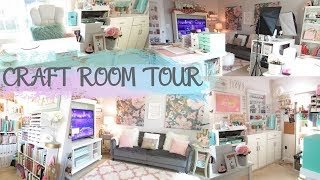 ULTIMATE MOM BOSS CAVE & CRAFT ROOM | Mom Cave and Craft Room Tour