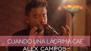 Alex Campos - Cuando Una Lagrima Cae - Derroche de amor (HD)