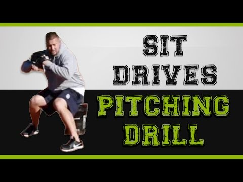 Increase your VELOCITY with this Baseball Pitching Drill  [SIT DRIVES]!